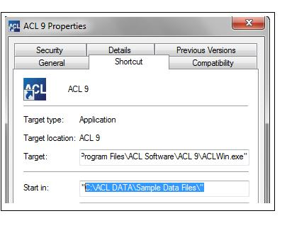 ACL Error: Working Directory No Write Access