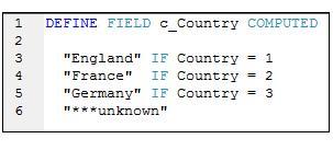 ACL CCF script