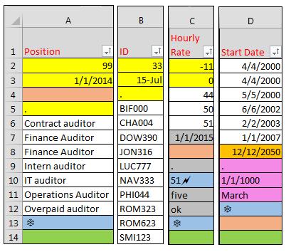 Excel alpha sort